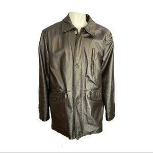 Retreat Leather Jacket with Thermal Lining Size 46